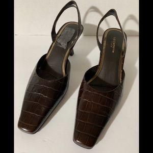 Brand new Liz Claiborne brown shoes 8.5